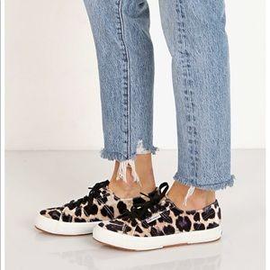 Superga 2750 Fanvelw Velvet Cheetah Sneakers